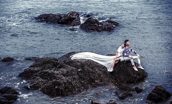 haibianyudi海边雨滴情侣